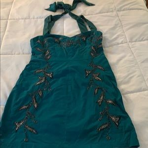 Jade Green Embellished FP Dress